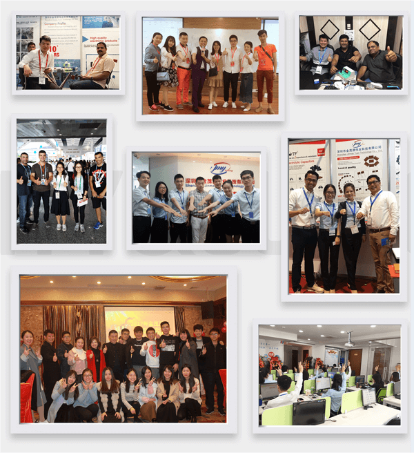 YTF Capacitor exhibitions and events