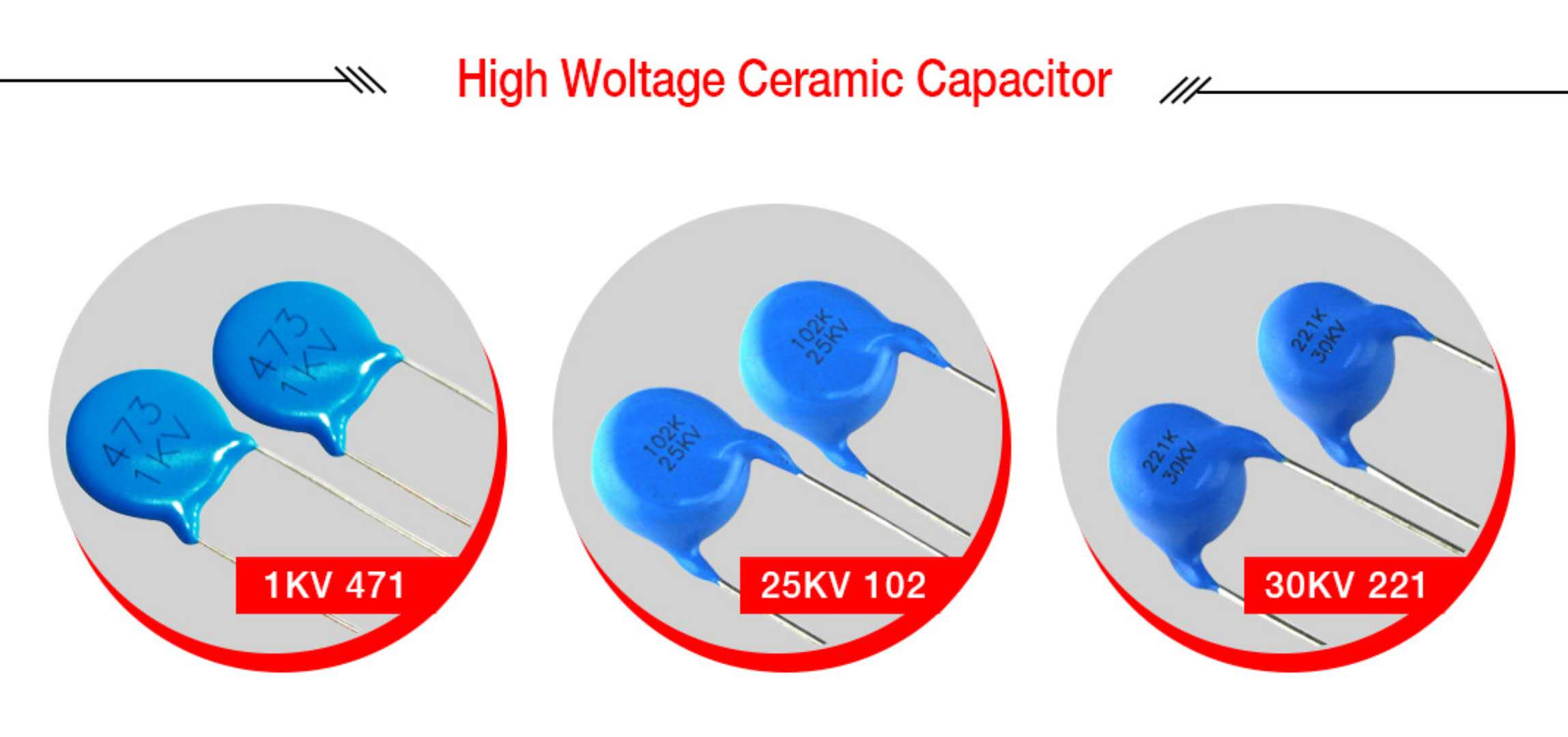 3 kinds of ceramic capacitor