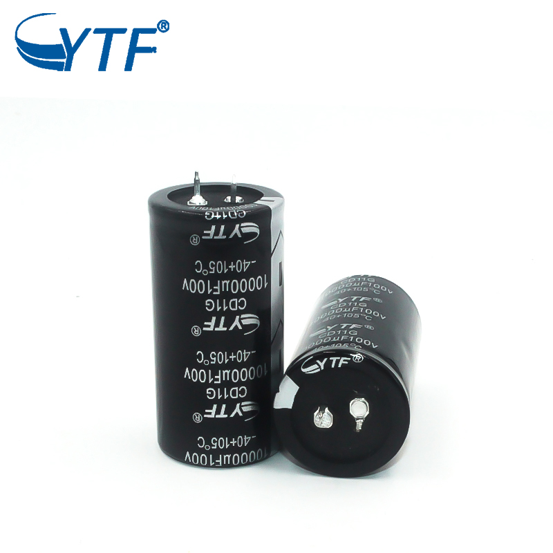 snap-in electrolytic capacitor