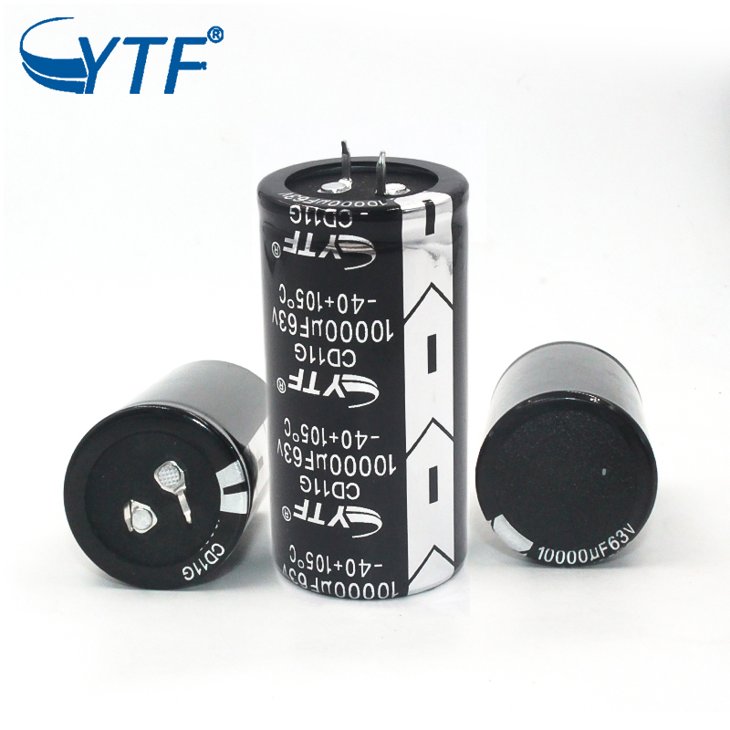 snap-in electrolytic capacitor 63v