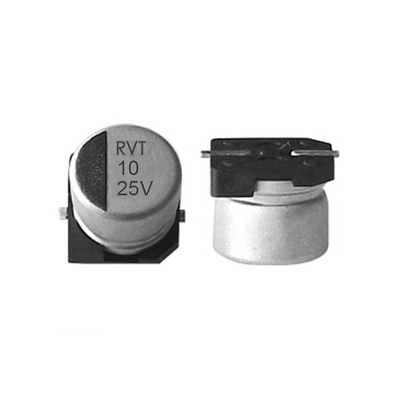 SMD electrolytic capacitor 25V10UF