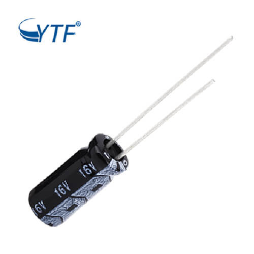16V electrolytic capacitor