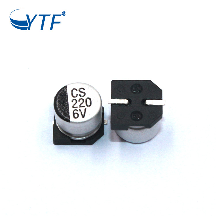 6.3v 220uf smd electrolytic capacitor 3
