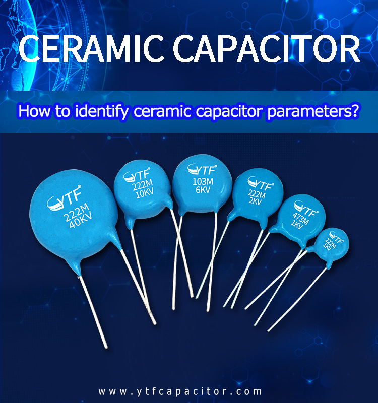 Method for identifying ceramic capacitor parameters