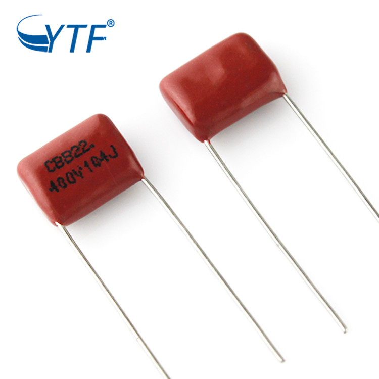China Supplier Hight Power Metallized Polypropylene 104J400V CBB21 Film Capacitor