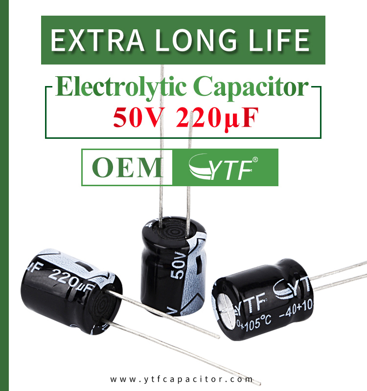 Precautions after installation of RoHS standard electrolytic capacitor