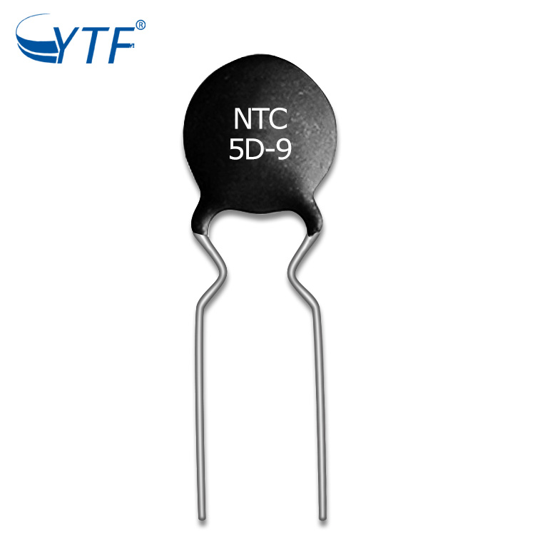 High Quality MF72 NTC Thermistor 5d-9 Resistors Small Black NTC Thermistor For Led Driver Power Supply