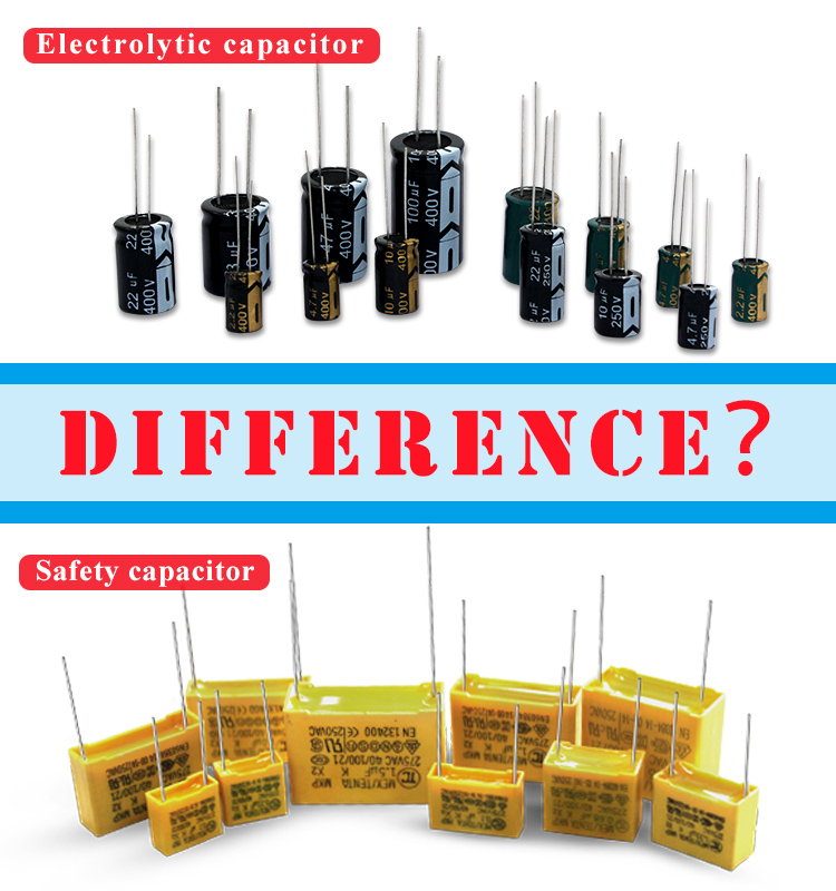 The difference between safety capacitor and common capacitor