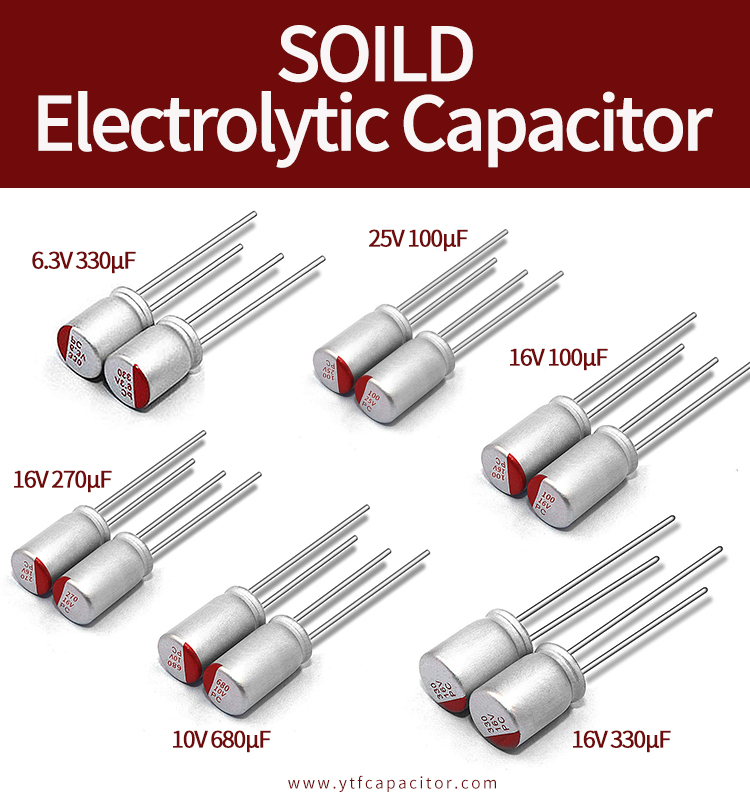 Solid Aluminum Electrolytic Capacitor