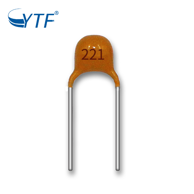 Multilayer high voltage ceramic capacitor 50V 221 ceramic Filtering circuit of high-voltage power