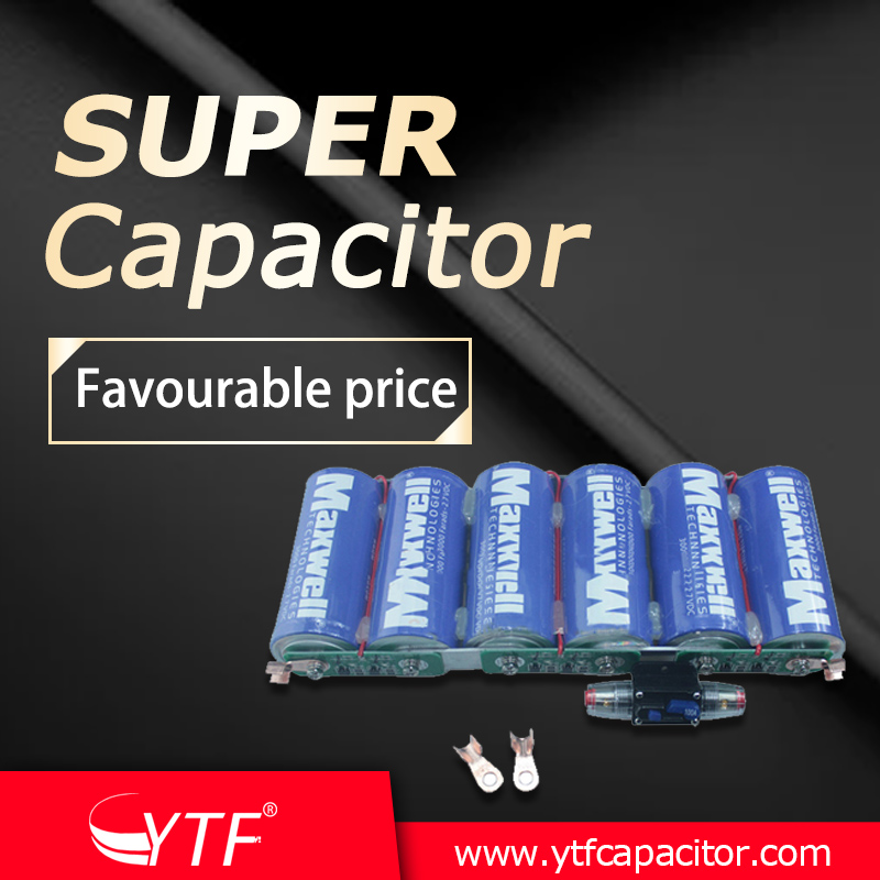 Supercapacitor can be used as a battery replacement
