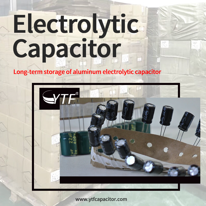 Is the electrolytic capacitor stored for a long time still usable?