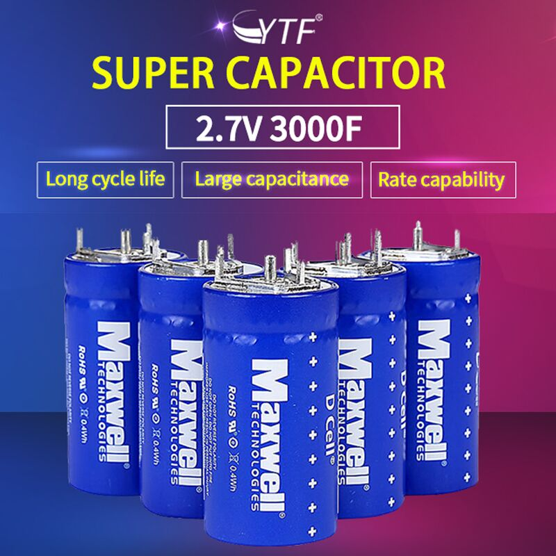 Charging of super capacitor batteries