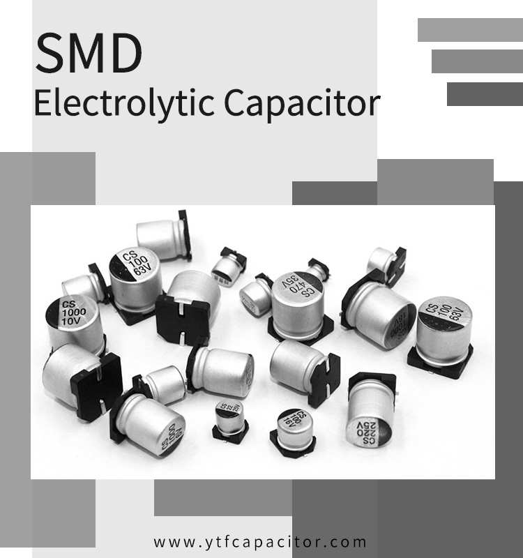 Circuit design of SMD aluminum electrolytic capacitor