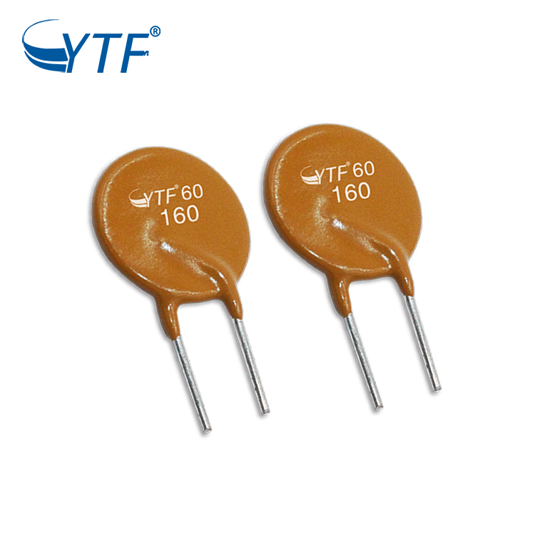 High Quality Radial Leaded Resettable Fuse pptc 250V 1.2A