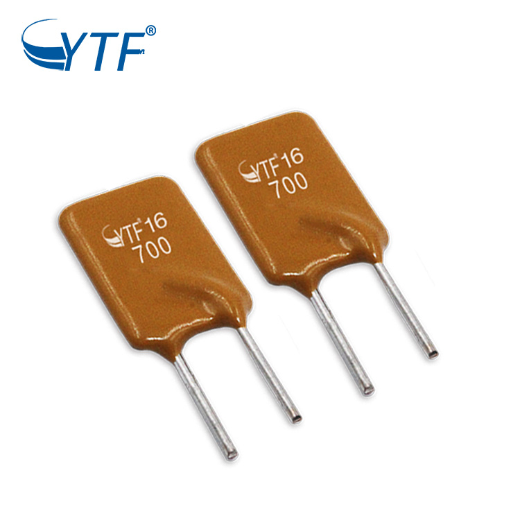Customized Dip Resettable Radial Leaded Pptc Thermal Fuse 120mA 250v