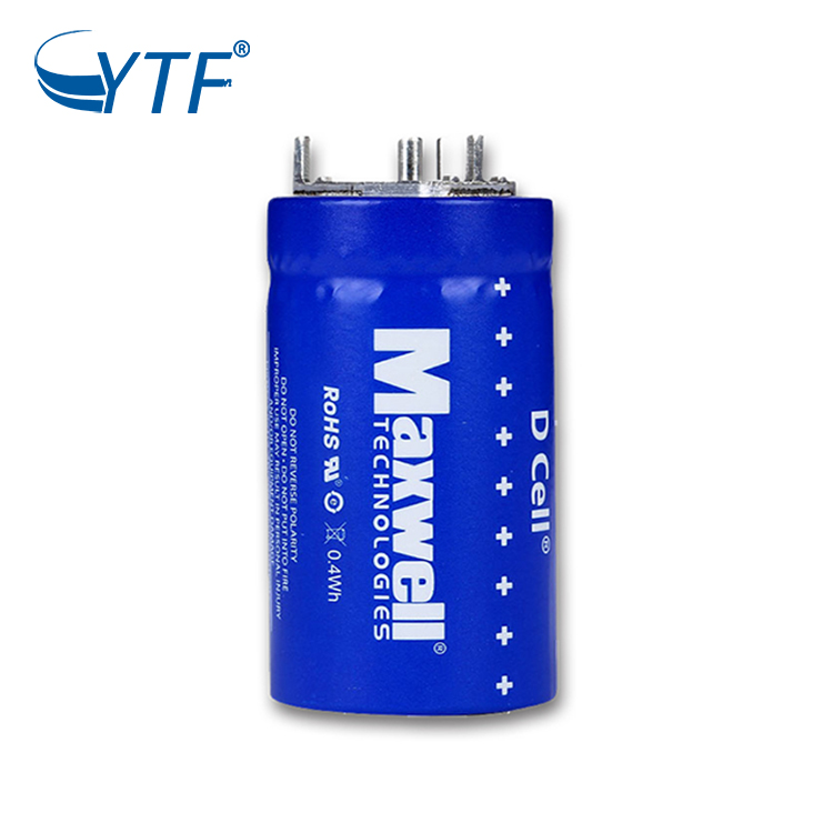 2.7V 350F MAXWELL Farad Super Capacitor 2.7V 350F Hybrid Car Battery Car Audio Super capacitor