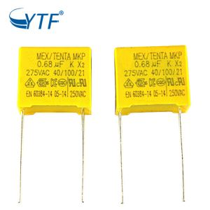 Wholesale CE And ISO9001 Certificate 0.68uf Mkp Metal Film X2 684k 275v Capacitor