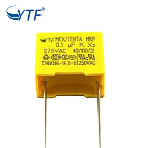film capacitors 275vac 0.1uf 10%