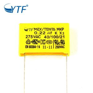 New design 1.2uf 275v mkp x2  capacitor