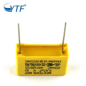 x2 capacitors lead pitch 15mm