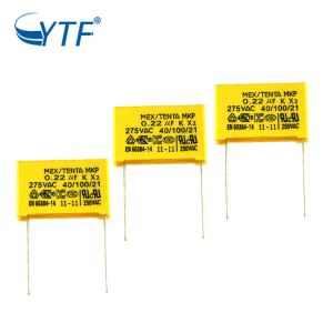 0.22uf 275v mkp x2 capacitor manufacturers