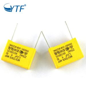 x2 capacitor 1.2uf 275v with great price