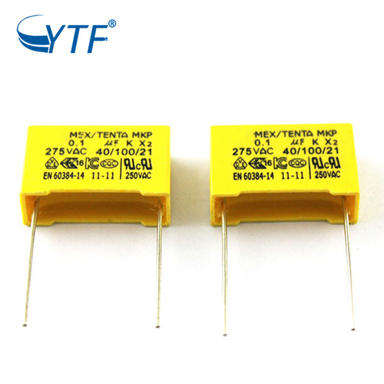 Cheap Double Channel Mkp High Performance 0.1uf K 275vac P15mm X2 Capacitor
