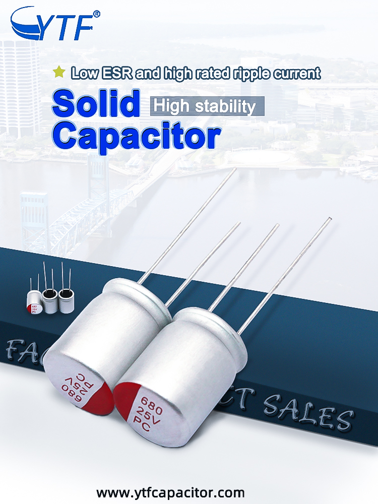 YTF Brand solid electrolytic capacitor