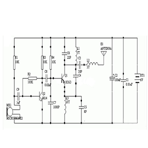 8050 Three-stage tube switch circuit diagram Daquan