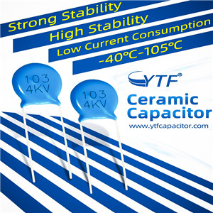Where is the ceramic capacitor used?