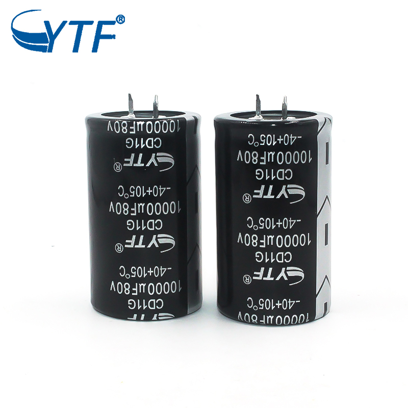 Screw Terminal Electrolytic Capacitor 10000uf 80v 35x50 in Audio Amplifier application