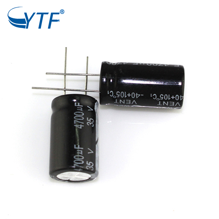 High ripple current electrolytic capacitor 35v