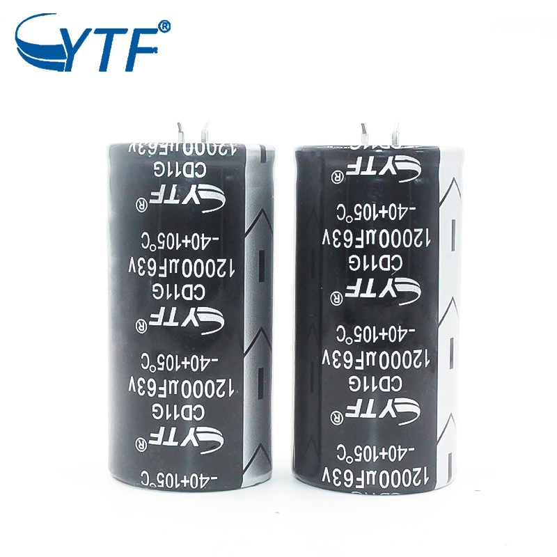 New Original Condensateur 63v 12000uf Elna Audio Snap-in Capacitor