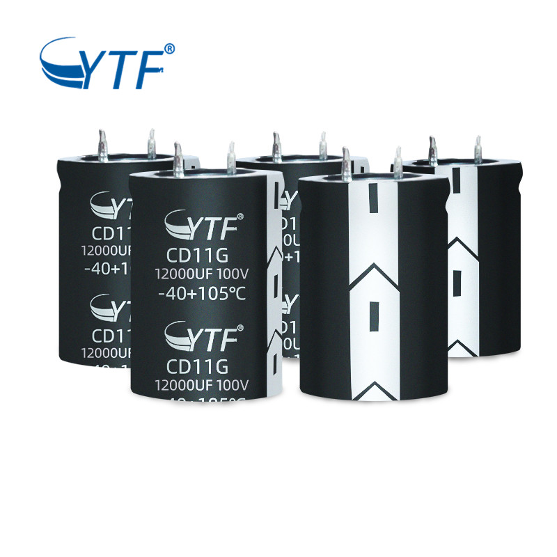 12000uf 100v Capacitor Split Air Conditioner Parts Snap-in Capacitor