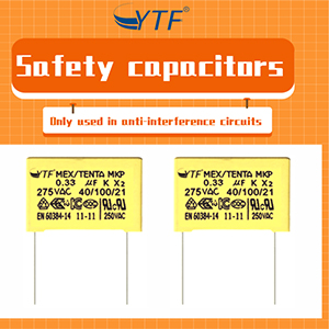 What Is The Role Of Safety Capacitors In Series In The Circuit?