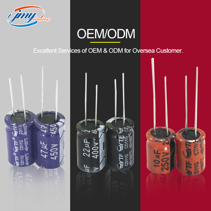 Aluminum electrolytic capacitor made of domestic goods industry insiders