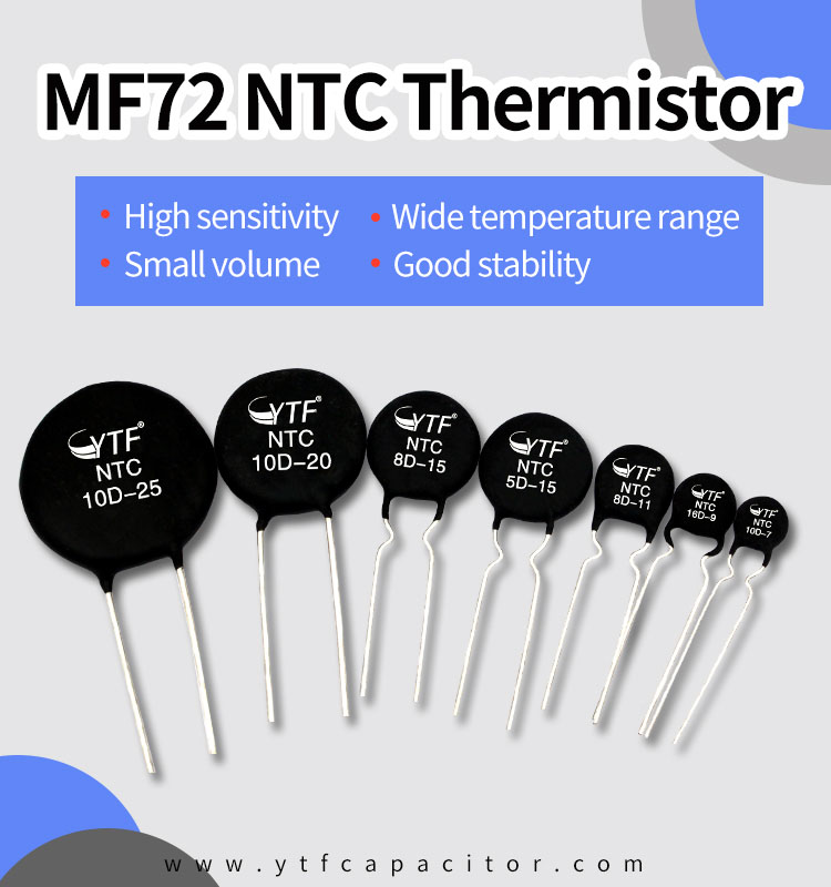The characteristics of the thermistor