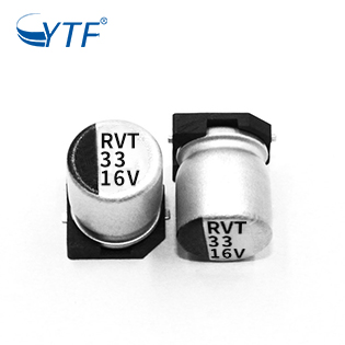 High Voltage Pulse Generator SMD Aluminum Capacitors 5*5.4 16V 33UF