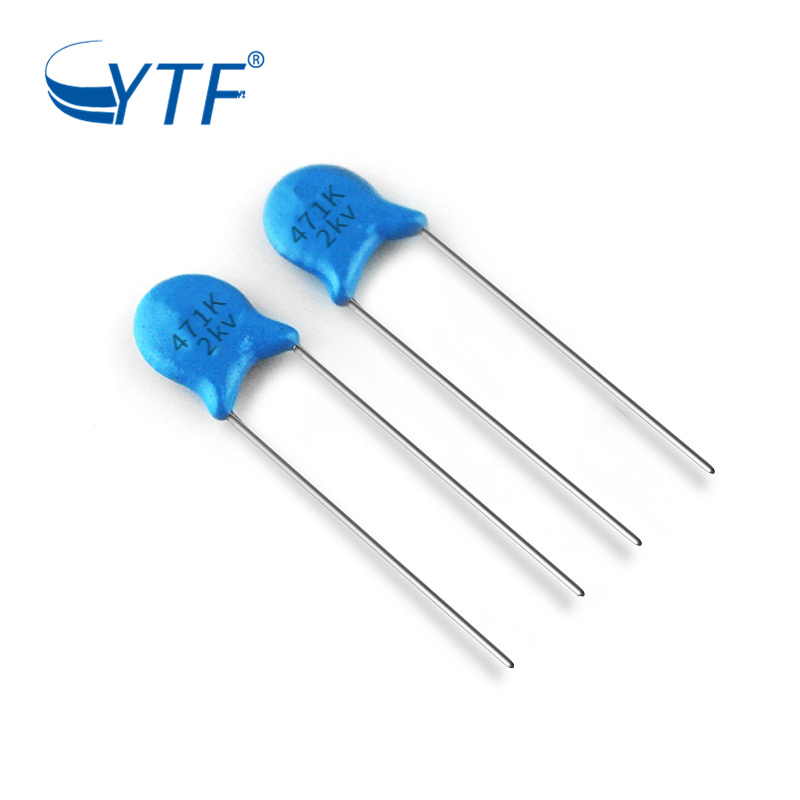 Manufacturer Supplier High Voltage Ceramic Capacitor 471K 2KV