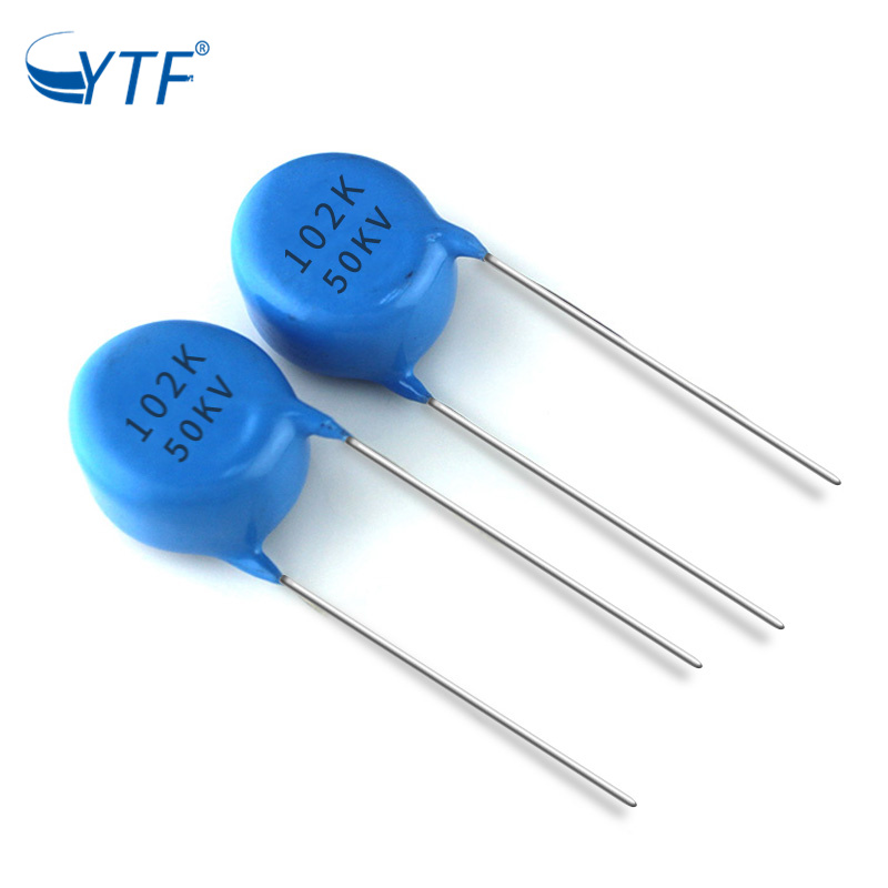 Back The Future Good Service Ceramic Capacitor 102k 50kv