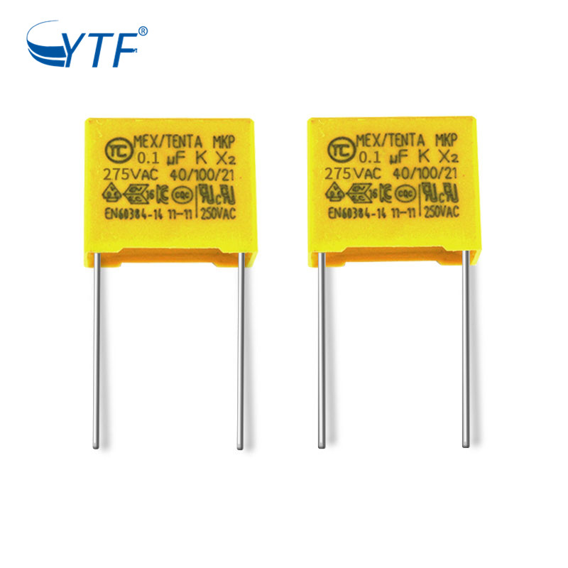 104k Type China National Standard Mkp X2 Capacitor 275v 0.1uf