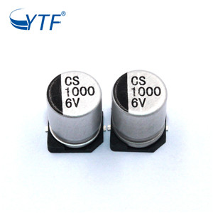 Factory direct sales of SMD Aluminum Electrolytic Capacitor 6.3V 1000UF